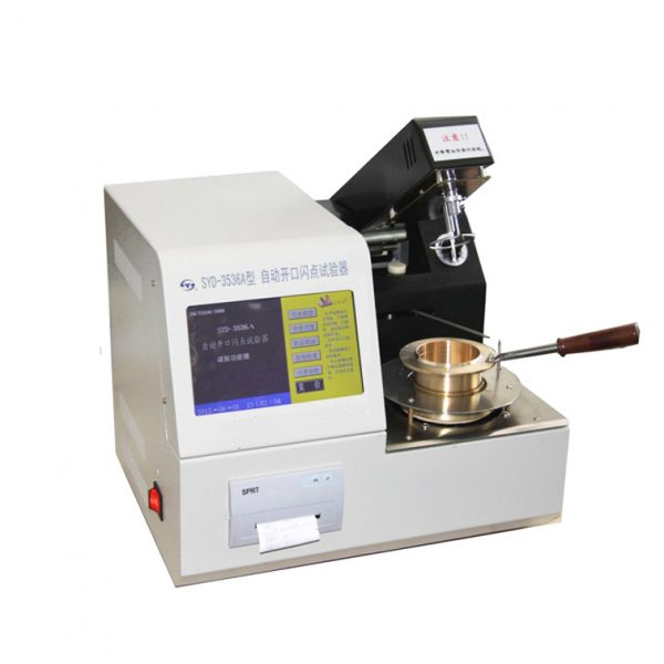 Automatic Cleveland Open-Cup Flash Point Tester is designed ASTM D92